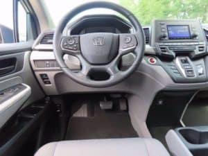 2021 Honda Odyssey Dash