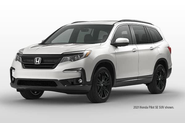 New 2021 Honda Pilot SPECIAL EDITION AWD SUV