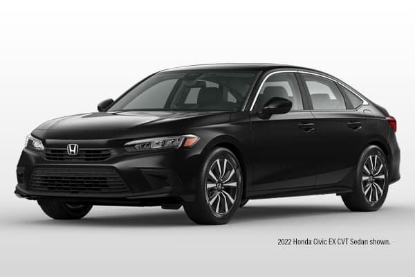 New 2022 Honda Civic EX CVT Sedan