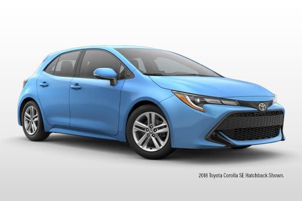 New 2019 Toyota Corolla SE Hatchback