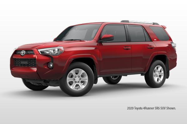 New 2020 Toyota 4Runner SR5 4x4 SUV