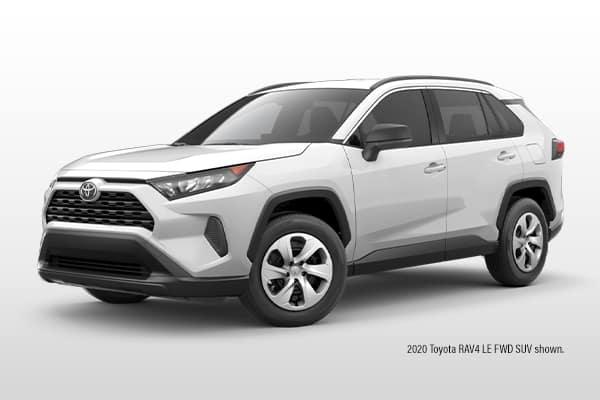 New 2021 Toyota RAV4 LE FWD SUV