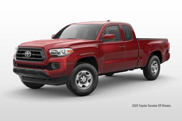 New 2021 Toyota Tacoma SR Double Cab 4x4 Pickup Truck