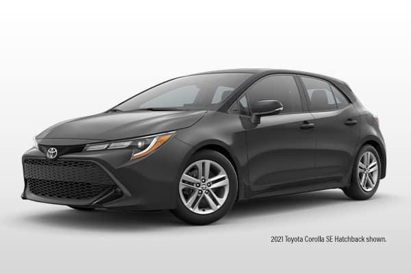 New 2021 Toyota Corolla Hatchback SE