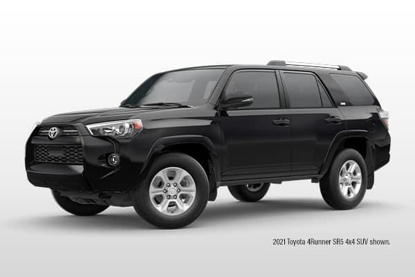 New 2021 Toyota 4Runner SR5 4x4 SUV