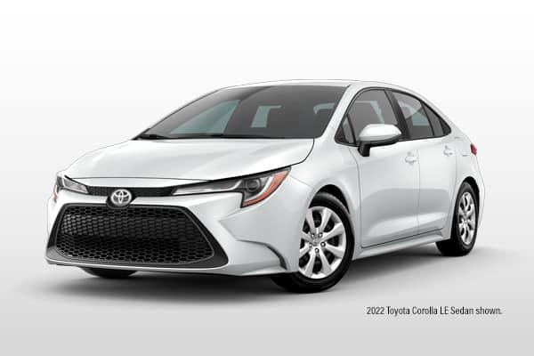 New 2022 Toyota Corolla LE Sedan