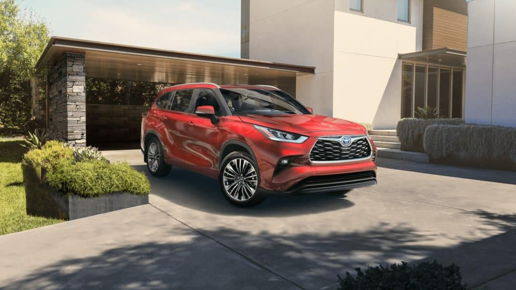 all-new-2020-toyota-highlander-cincinnati-ohio