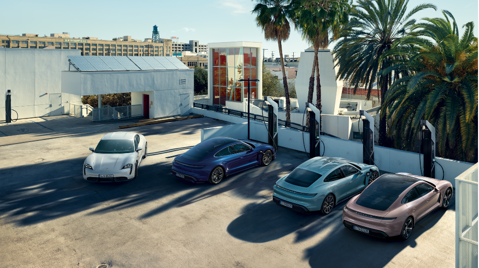 Welcome to Porsche - Your New Taycan Awaits