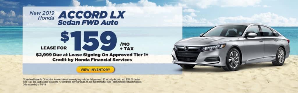 2019 Honda Accord LX Sedan FWD Auto