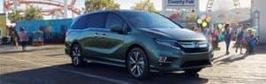 Honda Odyssey vs Dodge Grand Caravan