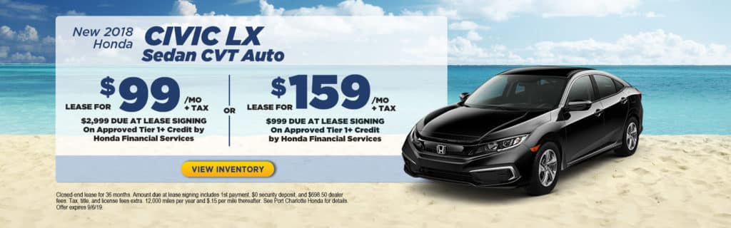 2019 Honda Civic LX Sedan FWD Auto