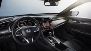 2020 Honda Civic Sport Interior Technology
