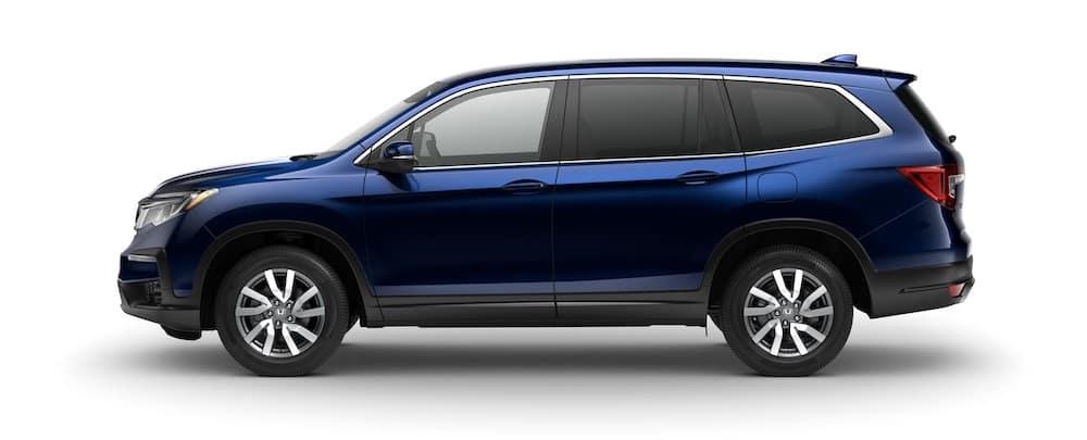 2020 Honda Pilot EX Obsidian Blue Pearl