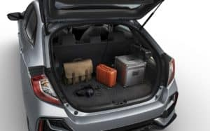 2020 Honda Civic Hatchback Passenger Space & Cargo Capacity