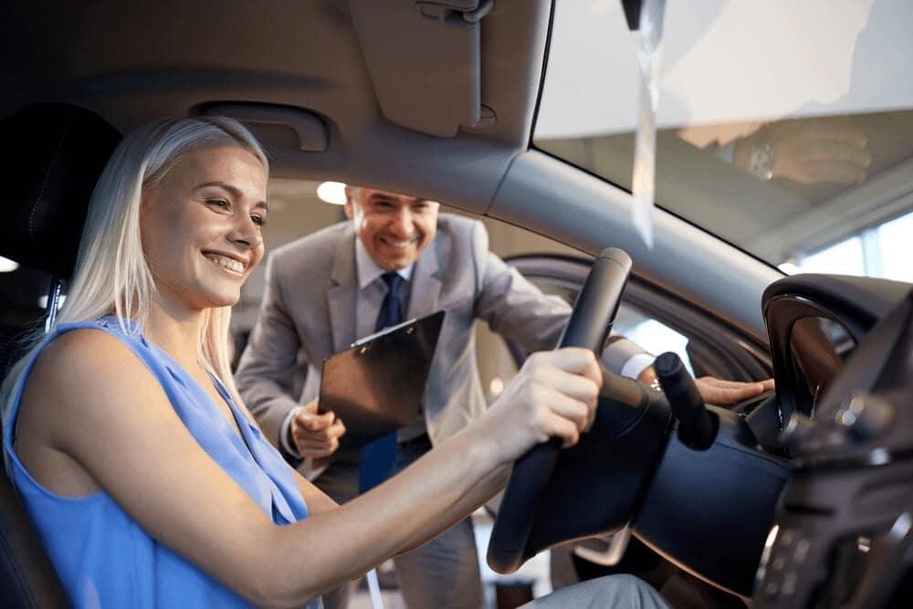 Experiencing Vehicle at Dealership