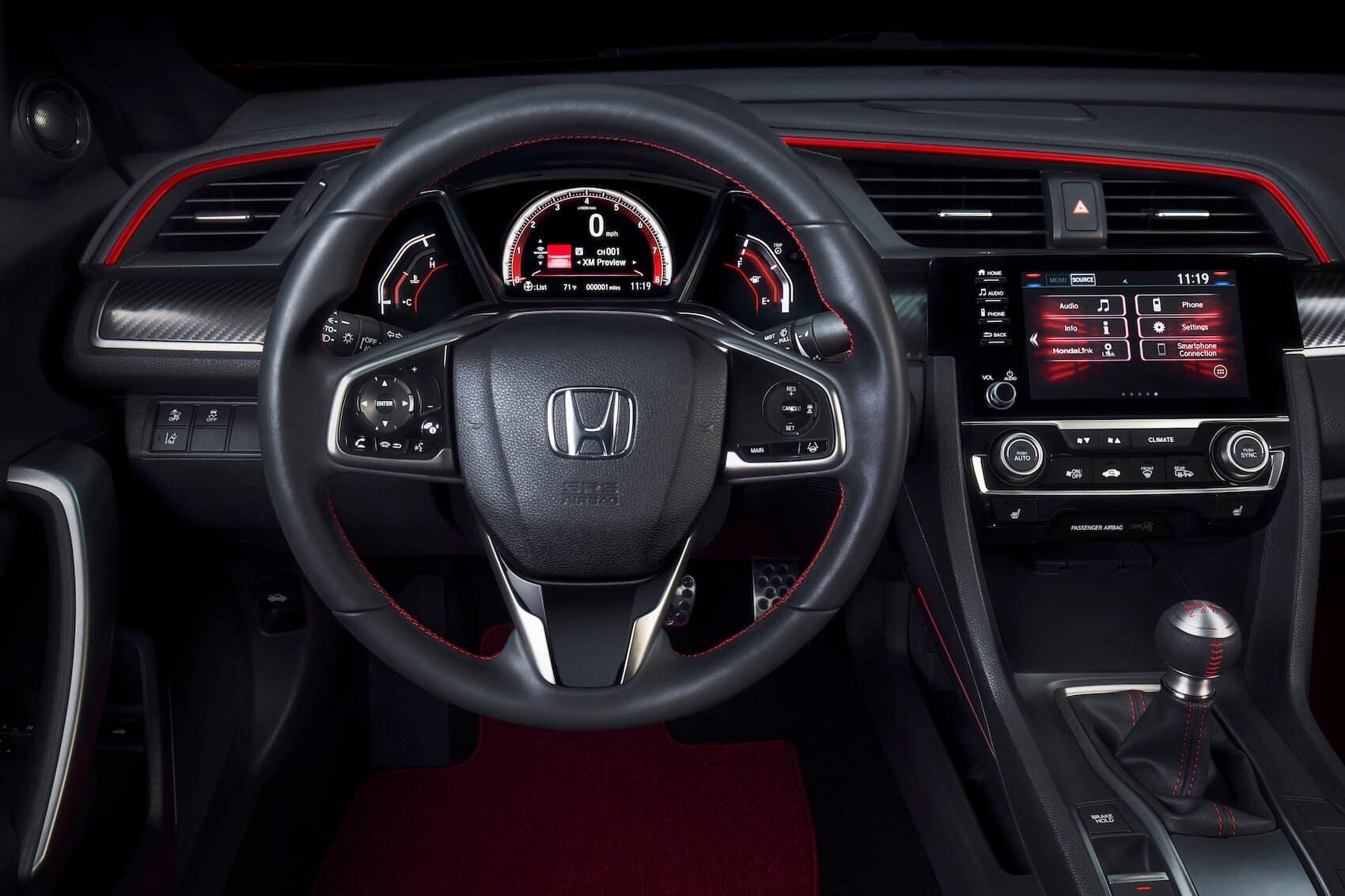 Honda Civic Interior: Technology