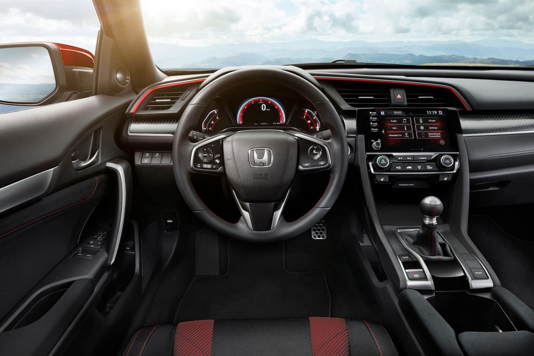 Honda Civic Interior: Interior Safety Features