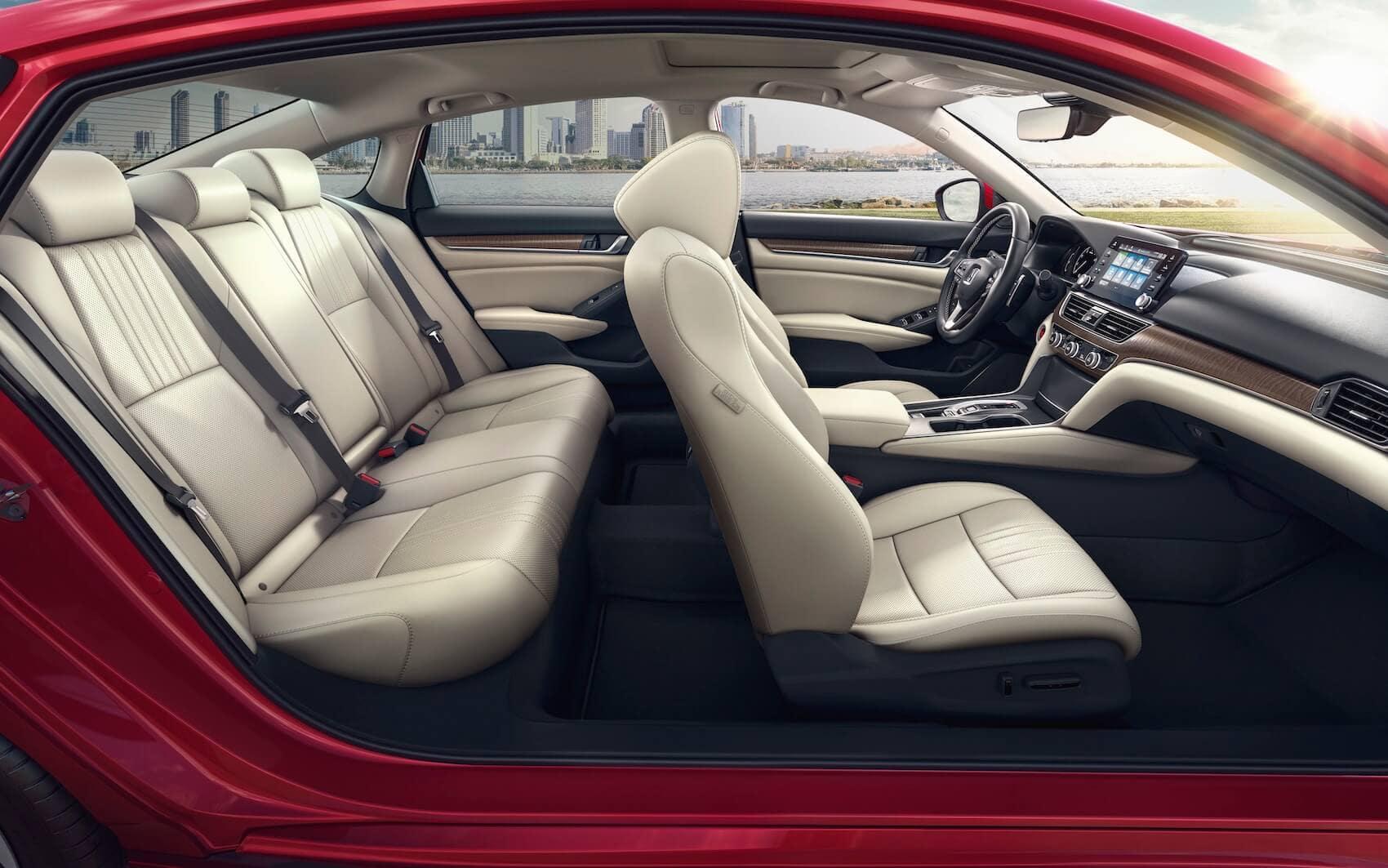 Honda Accord: Interior Space