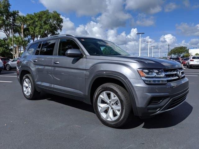 New 2019 Volkswagen Atlas SE FWD 4D Sport Utility