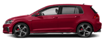 2019 Red Volkswagen Golf GTI Exterior Side View