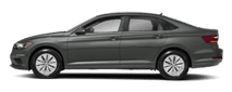 2019 Grey Volkswagen Jetta Exterior Side View