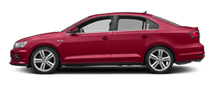 2019 Red Volkswagen Jetta GLI Exterior Side View