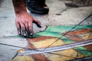 Chalk Festival in Venice