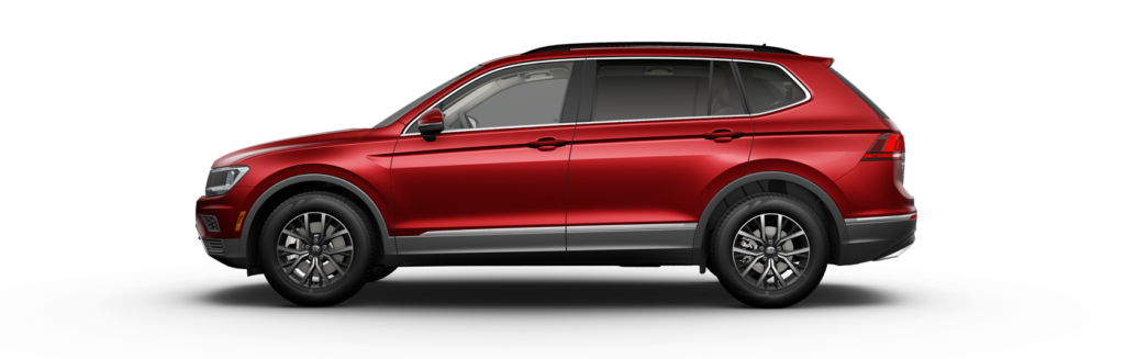2020 Tiguan SE Cardinal Red Metallic