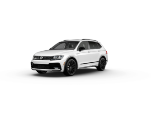 2020 Tiguan SE-R Line Black Pure White