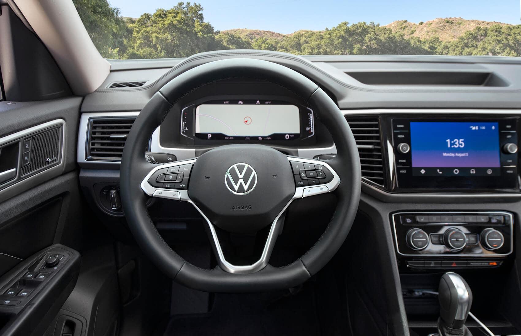 Volkswagen Atlas technology features