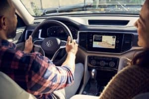 Volkswagen Atlas Interior Technology