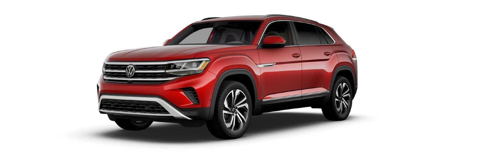 2021 Volkswagen Atlas Cross Sport Red Metallic