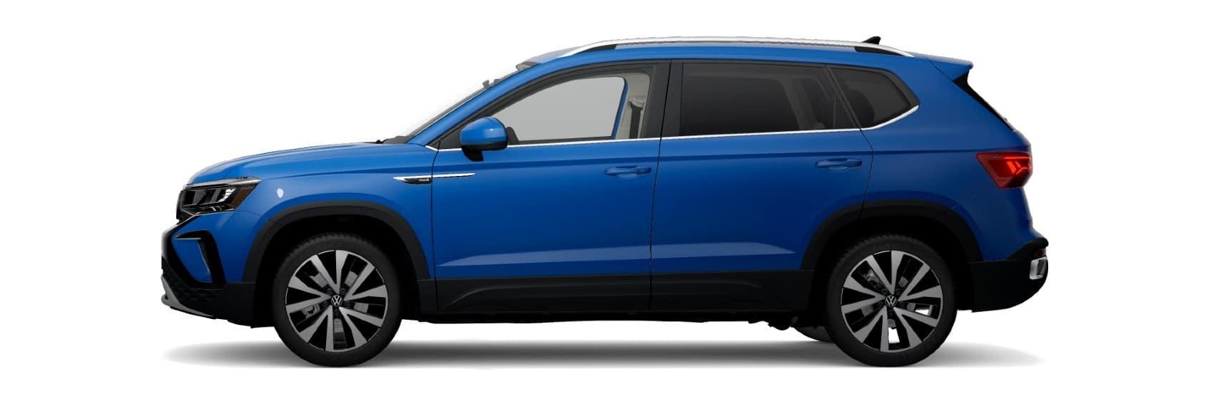 2022 Volkswagen Taos SE Cornflower Blue Metallic