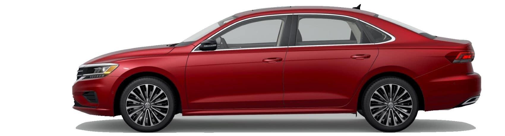 Aurora Red Volkswagen Passat