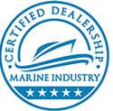 Certified Marine Dealership Logo