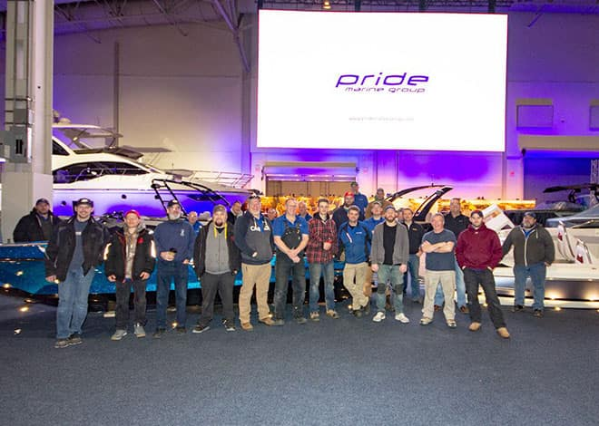 Pride Marine Group Shot