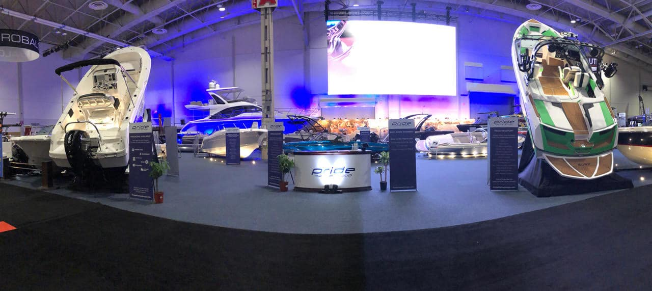Pride Marine Group at the Toronto International Boat Show