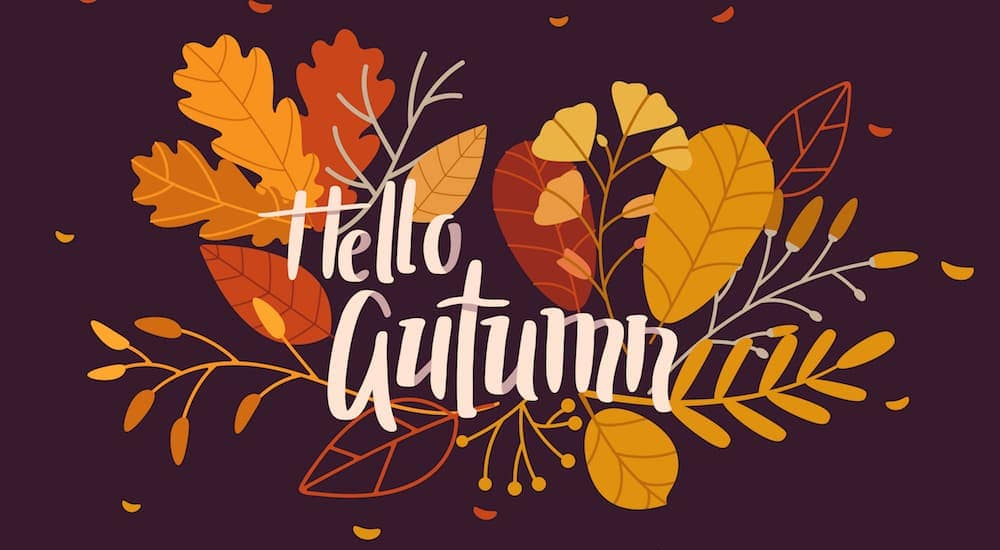 The quote, 'Hello Autumn' is shown.