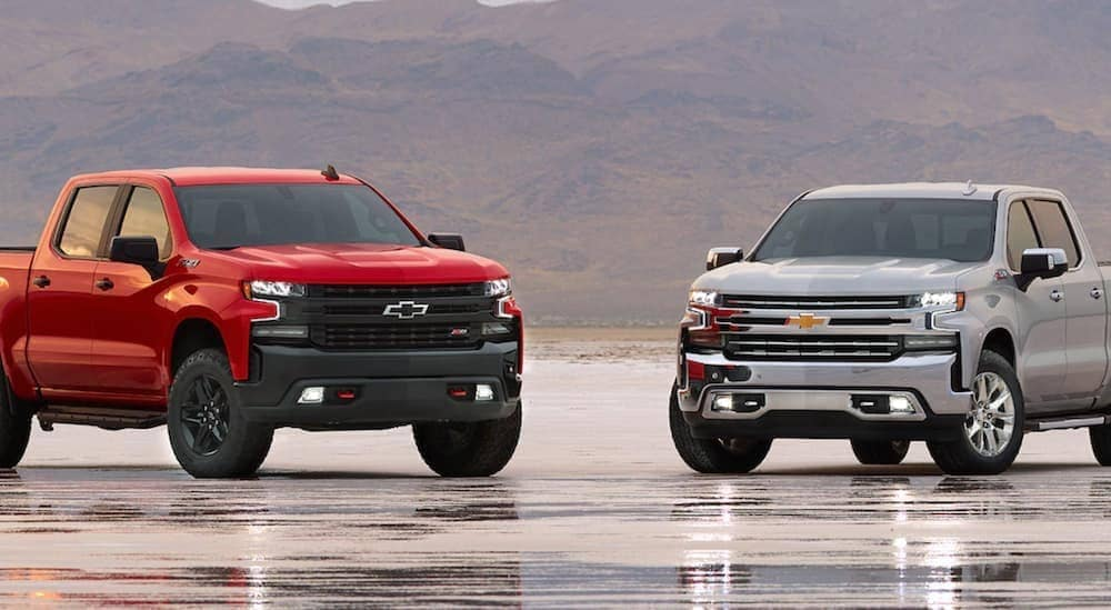 Seeing The Real Differences Of The Chevy Silverado Trail Boss Vs