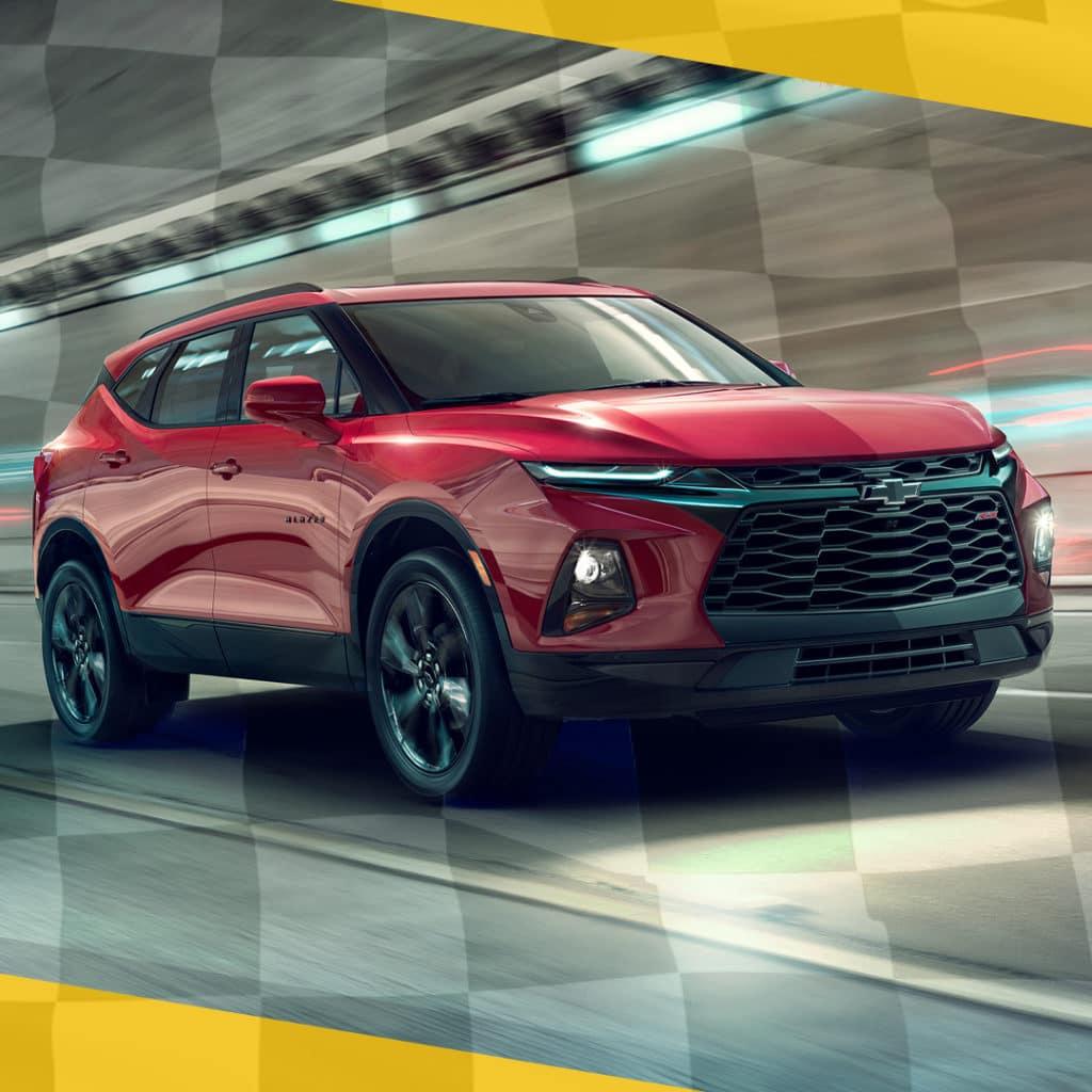 New 2021 Chevrolet Blazer - All Trim Levels