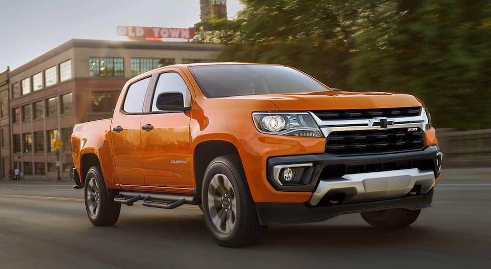 The 2021 Chevy Colorado Is A Truck For Lehigh Valley