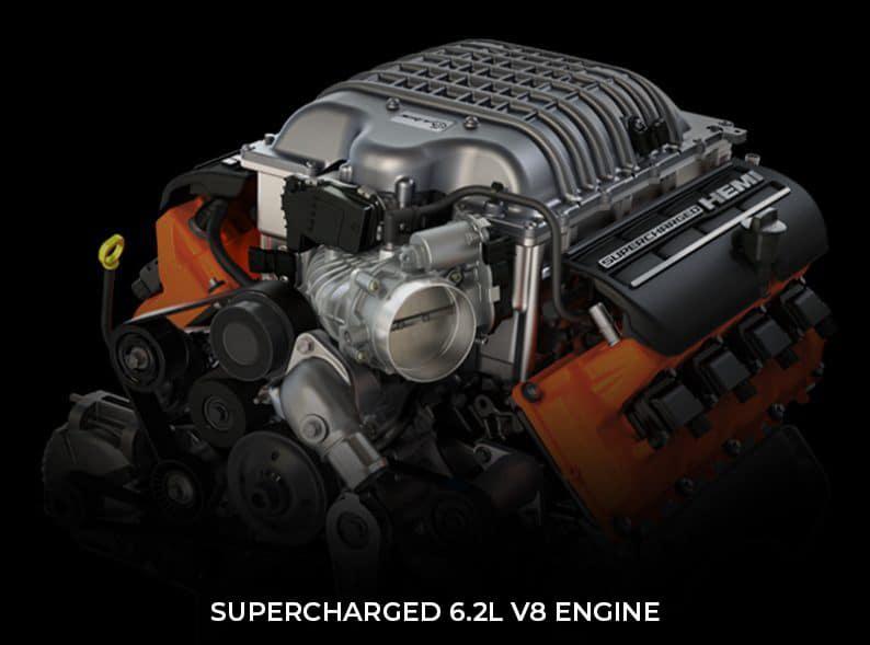 image of Supercharged 6.2L V8