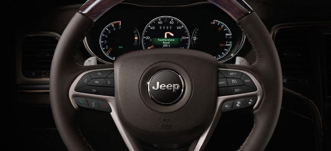 Jeep Grand Cherokee display