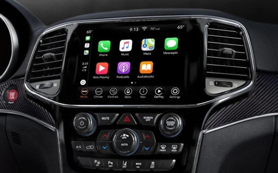 Jeep Grand Uconnect