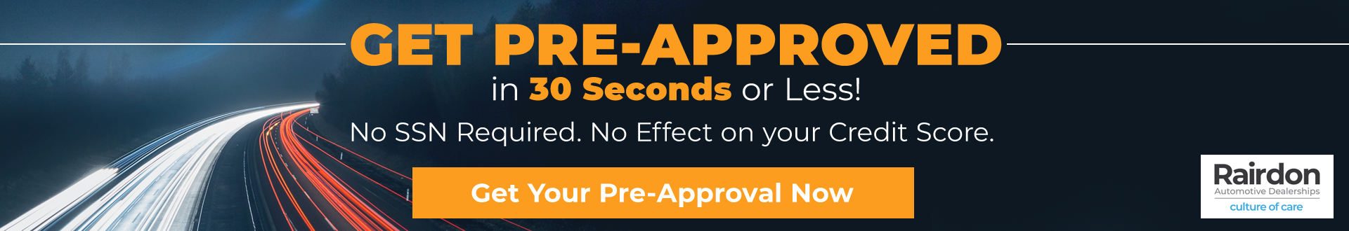 get pre-approved 30 seconds or less