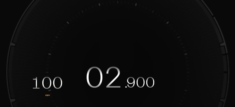 0-60mph <2.9sec