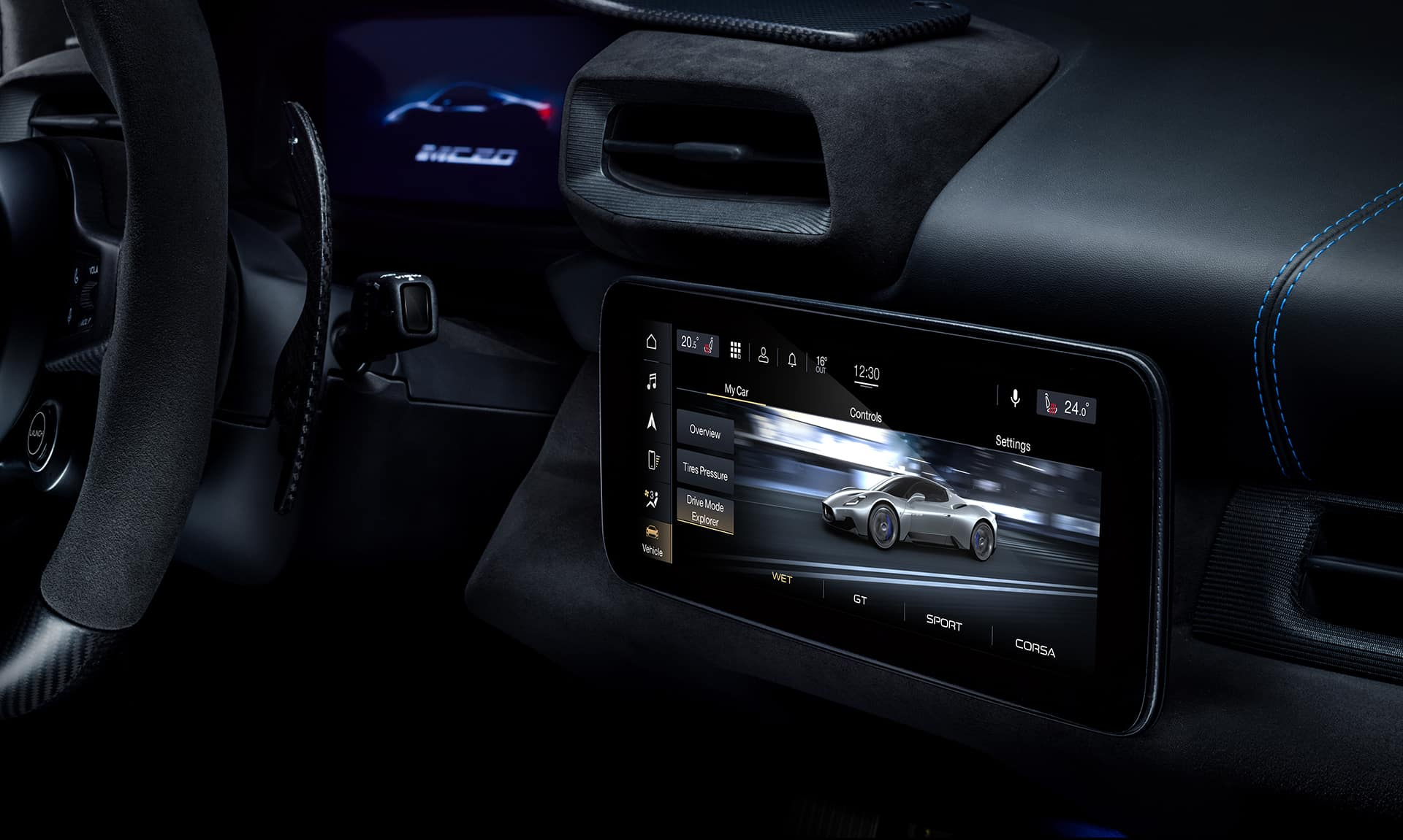 MC20 Infotainment TouchScreen