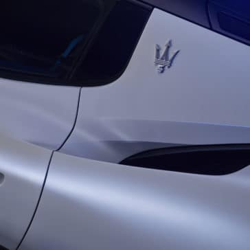 MC20 trident detail