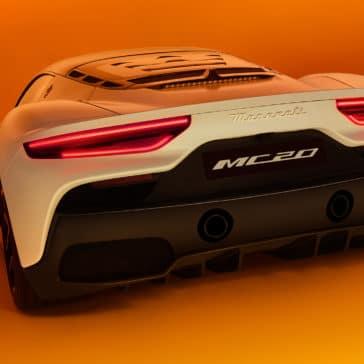 MC20 rear styling