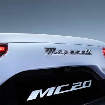 MC20 maserati MC20 badge